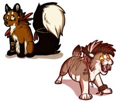 Have Some More Chibis :3 by SillyTheWolf