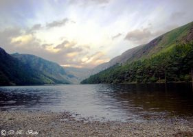 Lake in Ireland by debahi