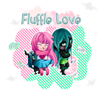 Fluffle Love by HeurexBleue