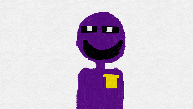 Purple Guy by TheArtistAlan