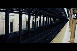 The Penn Station Wait by ordre-symbolique