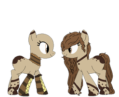 Chocolate Pone Adopt {closed} by Neppy-the-kit