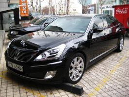 $150,000 Hyundai, The Glorious Equus Limousine by toyonda
