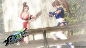 Mai vs Kasumi by EnlightendShadow