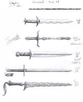 Swords by catnmaus