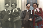 1950s Wedding - Colourisation by PhotoRevival