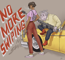 Dora the Exterminator by average-artist
