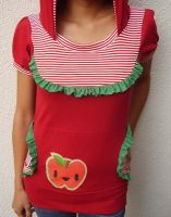 happy apple colab shirt by 231705