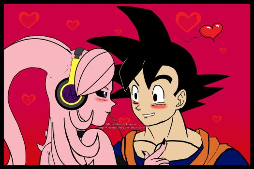Goku You are SOOO Silly~ by GeneralGibby