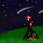 Watching The Stars [Commission] by LastbutnotAlise