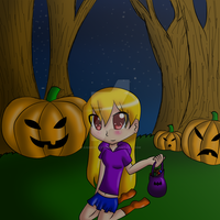 Happy Belated Halloween by animeroxygirl