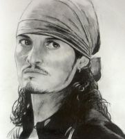 Will Turner by KateTortland