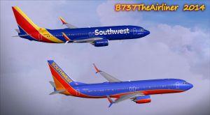 Southwest Airlines 737-800's by B737TheAirliner
