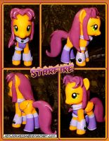 Custom Starfire Pony by HeyLookASign