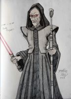 Darth Plagueis the Wise, Dark Lord of the Sith by JAM4077