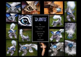 ----SOLD----- 'Quinto' the OOAK art doll! by stephanie1600
