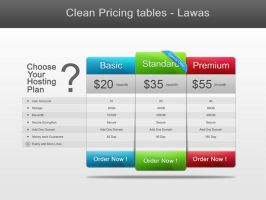Big Pricing Table by vennerconcept