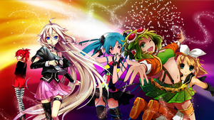 Vocaloid Party by OolimekilnoO