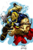Thor Colorized by johjames
