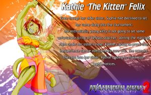 Warrior Bout 2 Profile: Kathie Felix by CylnX
