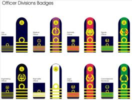 Naval Officer Division Badges New 1 by Ienkoron