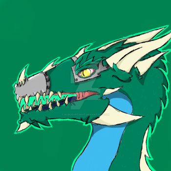 I drew this guy for my new profile icon by RoboRaptorYT