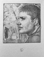 Dean Winchester by orioniswinter