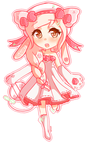 cutie in pink~ [kp] by Saracaa