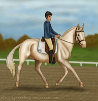 EAE Frostbitten - HS Young Horse Autumn Event (DR) by ElreniaGreenleaf