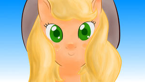 Art Trade: Applejack by TheWrongestTrousers