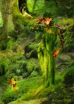 Forest Dryad by Leina1