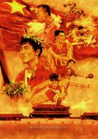 Beijing 2008 olympics poster by aaronwty