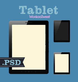 Tablet PSD by 199Lawonkaa