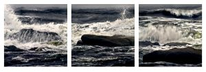 Tynemouth Storm Triptych by hold-steady