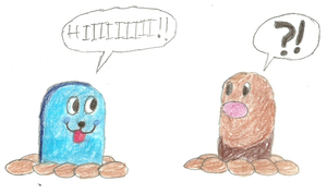 Whacka Meets Diglett by MetalShadowOverlord