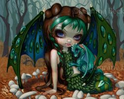 Ivy Dragonling by jasminetoad