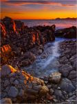 Burning Rocks by Philippe-Albanel