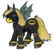 Batman MLP by GraveUnicorn