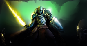 The Paladin by DageThe3vil
