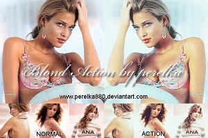 Blond Photoshop Action by perelka880