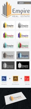 Empire Real Estate LOGO template FOR SALE! by x3mwoman