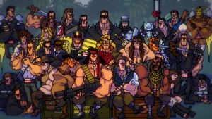 Broforce Wallpaper - All The Bros by SullyVanCraft