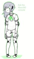 Ask the console girl by Ask-Xbox360