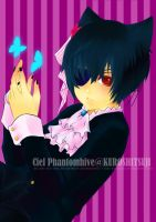 Demon Ciel : Butterfly by Panda-Prodigy
