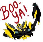 TFP Bumblebee - BOOYA ~Spoilers~ by Jagna-Q7