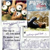Feel Carefree with Carbon by pepsipepsibaby
