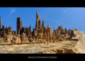 Attack of the Mutant Spiders by AndreasResch