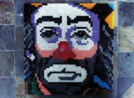Perler Weary Willie by GeneralHound