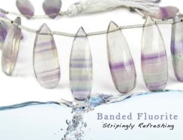 Fluorite by BeadsofCambay