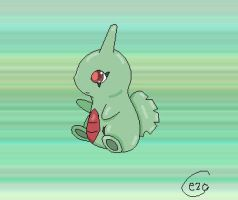 Larvitar by Espeon2Glaceon